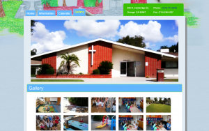 Gallery Page Design | Our Saviour's Children's Center