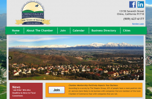 Chino Valley Chamber of Commerce Website - Home Page