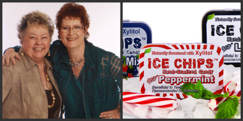 Beverly Vines-Haines, Charlotte Clary and Ice Chips Candy.  An Entrepreneurial Mindset.