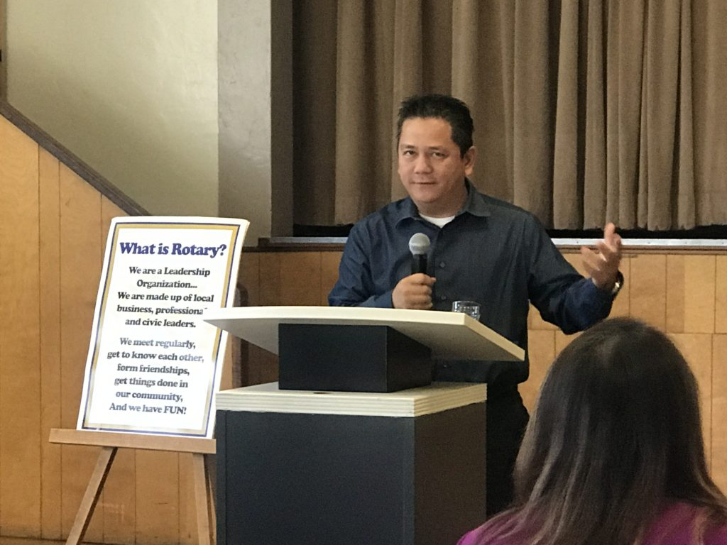 Rick Bui Chino Rotary Club Craft Talk