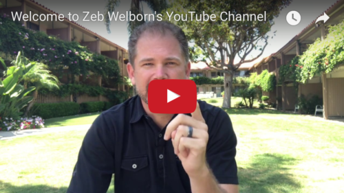 Zeb Welborn's YouTube Channel
