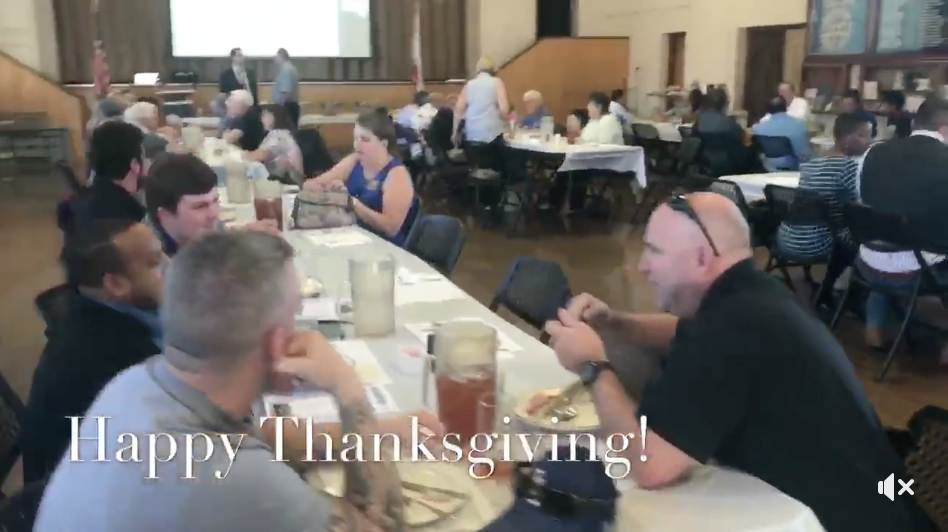 Thanksgiving Lunch at Chino Rotary Club