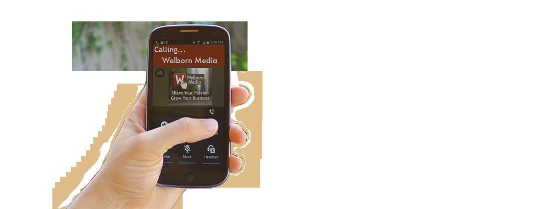 Let Welborn Media handle your internet marketing efforts.
